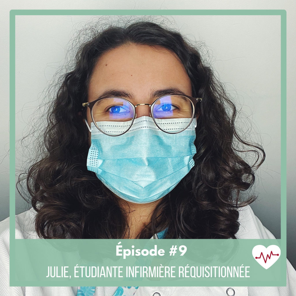 julie-etudiante-infirmiere-requsitionne-covid
